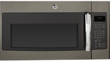 "JVM6175EKES GE 30"" 1.7 cu. ft. Over-the-Range Microwave with 1,000 Watts, 300 CFM Ventilation and 10 Power Levels - Slate"