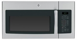 JVM6175RFSS GE 1.7 cu. ft. Over-the-Range Electric Sensor Microwave Oven - Stainless Steel with Black Case