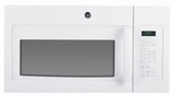 JVM6177DFWW GE Spacemaker 1.7 Cu Ft 1000W Over The Range Microwave - White on White