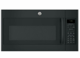 "JVM7195DKBB GE 30"" Series Over-The-Range Sensor Microwave with 1.9 Cu. Ft. Capacity and Melt Feature - Black"