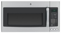 JVM7195SFSSS GE 1.9 cu. ft. Over-the-Range Electric Sensor Microwave Oven - Stainless Steel with Gray Case