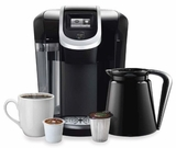 K350 Keurig 2.0 Coffee Brewer with Touch Display - Black