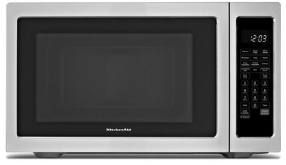 Kcmc1575bss Kitchenaid Architect 1 5 Cu Ft Convection Microwave Stainless Steel