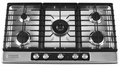 "KFGU766VSS KitchenAid Architect 36"" Gas Cooktop - Stainless Steel"