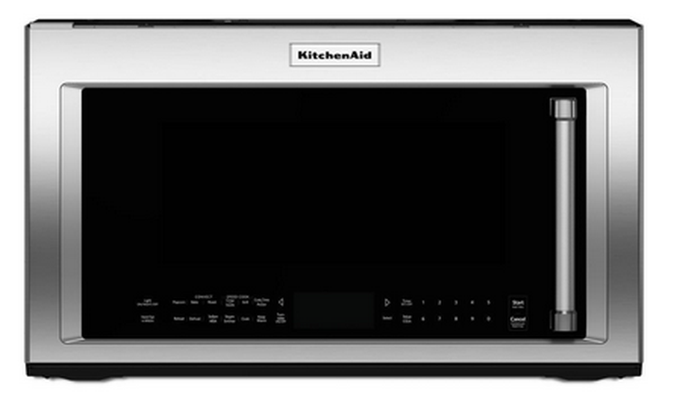 Kmhp519ess Kitchenaid 1200w Convection Microwave With High Sd Cooking Stainless Steel