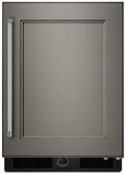 "KURR104EPA KitchenAid 24"" Undercounter Refrigerator with Glass Shelves - Right Hinge - Custom Panel"