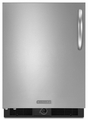 KURS24LSBS KitchenAid Architect 5.6 cu. ft. Undercounter Specialty Refrigerator - Stainless/Black