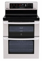 LDE3037ST LG  Electric Double Oven Range with Lower Convection Oven - Stainless Steel