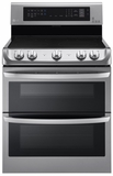 LDE4413ST LG Freestanding 7.3 Cu. Ft. Electric Double Oven with Probake Convection - Stainless Steel