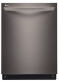 LDF7774BD LG Black Stainless Steel Series Fully Integrated Dishwasher with Hidden SmoothTouch Controls - Black Stainless Steel