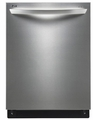 LDF7774ST LG Fully Integrated Dishwasher with Height Adjustable 3rd Rack - Stainless Steel