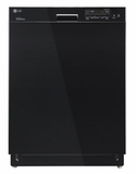 LDS5040BB LG Semi-Integrated Dishwasher with Flexible EasyRack� System - Black