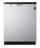 LDS5540WW LG Semi-Integrated Dishwasher with Flexible EasyRack Plus System - White