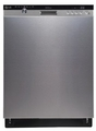 LDS5560ST LG Semi-Integrated Dishwasher with Height-Adjustable 3rd Rack - Stainless Steel
