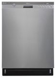 LDS5774ST LG Semi-Integrated Dishwasher with Height-Adjustable Third Rack - Stainless Steel