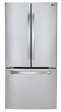 LFC24770ST LG Ultra Capacity 3 Door French Door Refrigerator - Stainless Steel