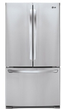 LFC28768ST LG Large Capacity 3-Door French Door Refrigerator with Smart Cooling - Stainless Steel