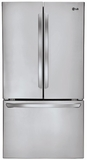 LFCS31626S LG 31 Cu. Ft. Super Capacity 3 Door French Door Refrigerator