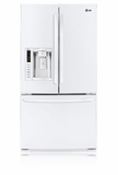 LFX25974SW LG Energy Star 24.7 Cu. Ft. French Door Refrigerator - Smooth White
