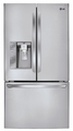 LFX29937ST LG Ultra Capacity 3 Door French Door Refrigerator with 29 cu. ft. - Stainless Steel