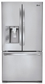 LFX29945ST LG Ultra-Large Capacity Door-In-Door 3-Door French Door Refrigerator with Dual Ice Makers - Stainless Steel