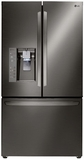"LFXC24726D LG Diamond Collection 36"" Ultra Capacity 24 Cu. Ft. French Door Refrigerator - Counter Depth - Stainless Steel"