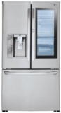 "LFXC24796S LG 36"" 24 cu. ft. 3-Door French Door Refrigerator with InstaView Door-In-Door and Smart Cooling Plus - Stainless Steel"