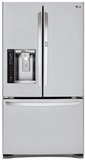 "LFXS24566S LG 24 Cu. Ft. Large Capacity 36"" Wide French Door Refrigerator with Door in Door - Stainless Steel"