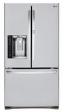 LFXS27566S LG 27 cu. ft. Ultra Capacity 3-Door French Door Refrigerator with Door-In-Door - Stainless Steel
