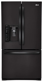 LFXS29626B LG Ultra-Capacity 3 Door French Door Refrigerator w/ Dual Ice Makers - Black
