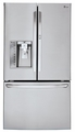 LFXS30766S LG 30 cu. ft. Super Capacity French Door Refrigerator with Door-in-Door - Stainless Steel