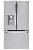 "LFXS30786S LG 36"" French Door 30 cu. ft. Refrigerator with Door in Door and Bluetooth - Stainless Steel"
