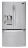 LFXS32766S LG 32 cu. ft. Mega-Capacity French Door Refrigerator with Door-In-Door - Stainless Steel