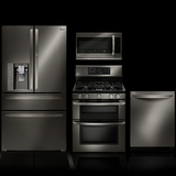 LG Black Stainless Steel Series of Appliances