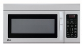 """LMV1831ST LG 30""""  1.8 cu. ft. Over-The-Range Microwave Oven - Stainless Steel"""