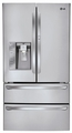LMX30995ST LG Super Capacity 4-Door French Door Refrigerator with Door-In-Door - Stainless Steel