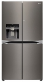 "LPXS30866D LG Diamond Collection 36"" 4 Door French Door Refrigerator with Door-in-Door - Black Stainless Steel"