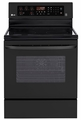 LRE3083SB LG 6.3 Cu. Ft. Capacity Electric Single Oven Range with True Convection and EasyClean - Black