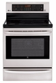 LRE3085ST LG 6.3. Cu. Ft. Capacity Single Oven Electric Range with Infrared Grill and EasyClean - Stainless Steel