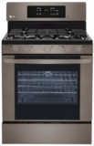 LRG3081BD LG Black Stainless Steel Series 5.4 Cu. Ft. Capacity Freestanding Gas Range - Black Stainless Steel