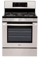 LRG3093ST LG 5.4 Cu. Ft. Self-Clean Single Oven Gas Range with Oval Burner and Griddle - Stainless Steel