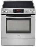 LSE3090ST LG Slide-In Range with Large Capacity Oven and EvenJet Convection - Stainless Steel