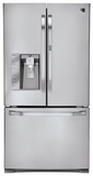 LSFD2491ST LG Studio 24 Cu. Ft. 3-Door French Door Refrigerator with Door-in-a-Door - Stainless Steel