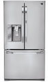 LSFD2591ST  LG Studio Ultra-Large Capacity Counter Depth 3-Door French Door Refrigerator - Stainless Steel