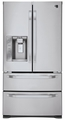 LSMX211ST LG  Studio Large Capacity Counter Depth 4 Door French Door Refrigerator with Ice & Water Dispenser - Stainless Steel