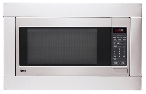 how to unlock lg easy clean microwave