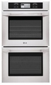 "LSWD305ST LG Studio 30"" Built-in Double Wall Oven with 6.3� LCD Touch-Screen Control System - Stainless Steel"