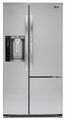 LSXS26366S LG 26 cu. ft. Side-By-Side Refrigerator with Door-In-Door - Stainless Steel