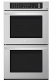 "LWD3063ST LG 30"" Double Wall Oven with 9.4 cu. ft. Capacity and Convection - Stainless Steel"