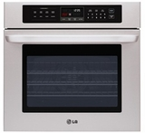 "LWS3010ST LG 30"" Single Built-In Wall Oven - Stainless Steel"